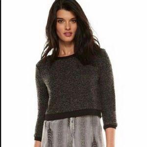 Elie Tahari sweater shirt, snake Chrysler print